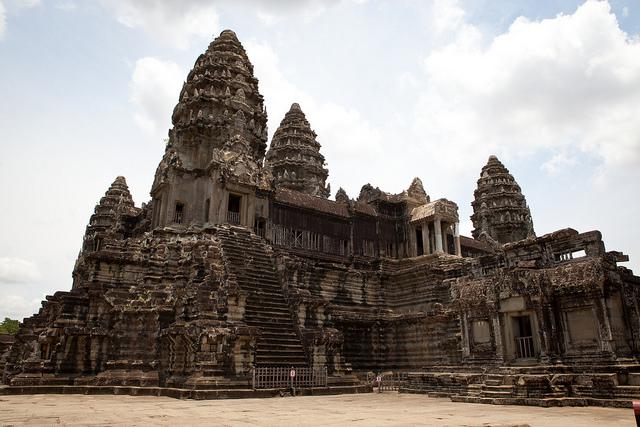Angkor Wat Center Temple