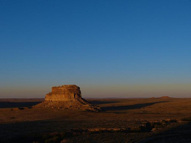 Fajada Butte Chaco Canyon